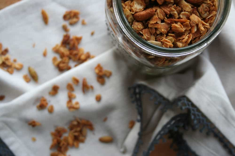 Simple Homemade Granola - Hungry by Nature