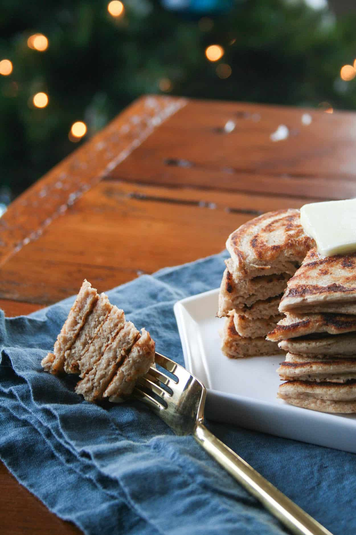 Protein Packed Gingerbread Pancakes Hungry By Nature
