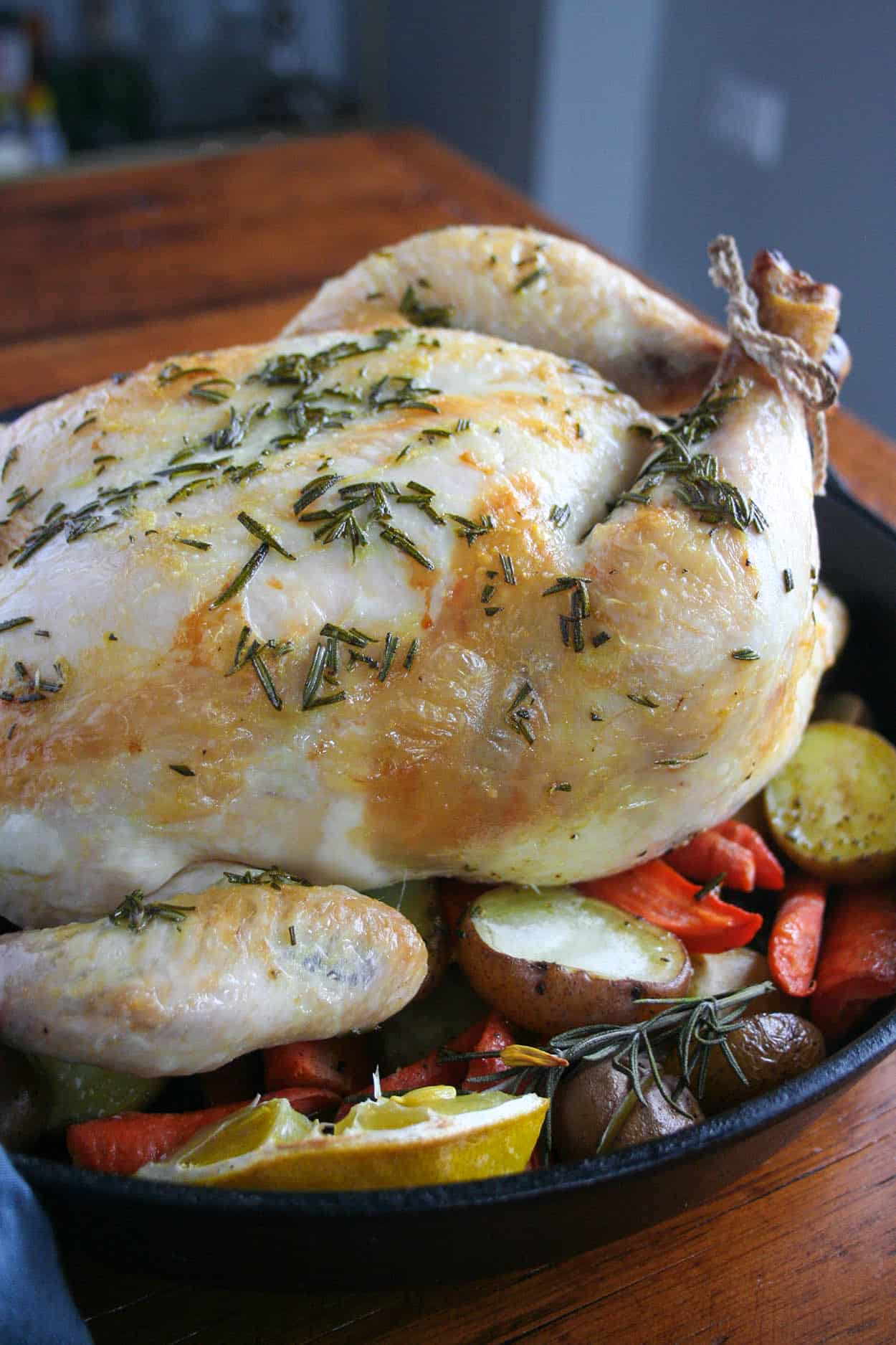 Whole30 Rosemary Chicken With Root Vegetables Hungry By Nature