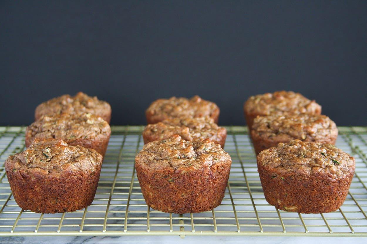 Paleo Zucchini Muffins Hungry By Nature